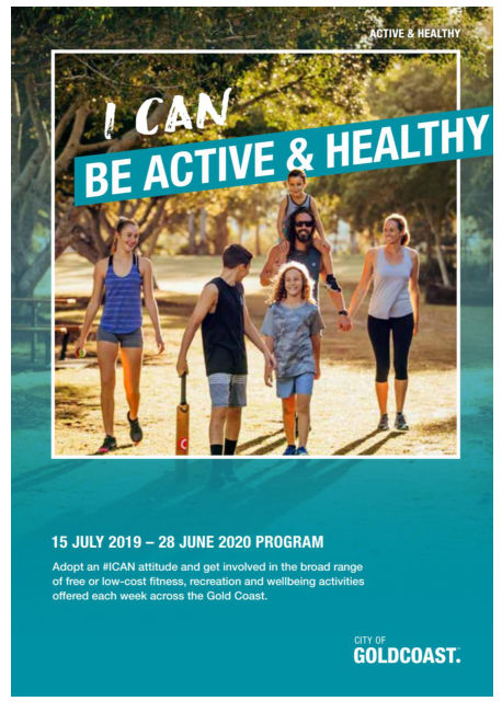 city of gold coast active and healthy